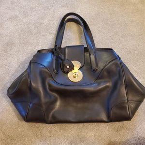 Ralph Lauren Soft Ricky Black Bag